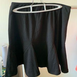 Gap black mini skirt